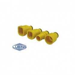 Adaptation tube rond 3/4'' 26,7 LUBING 3305 Volaille
